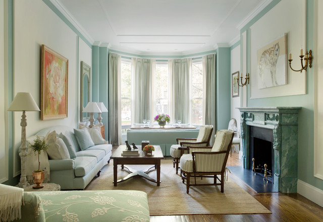 Back Bay Brownstone Traditional Living Room Other