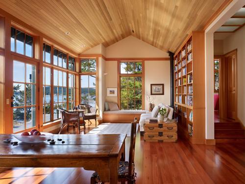 Sullivan Conard Architects traditional living room