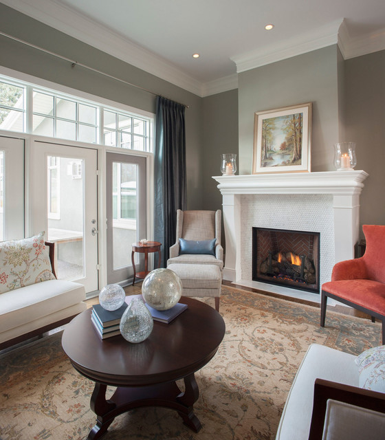 Traditional living room traditional living room calgary by maillot homes for Houzz traditional living rooms