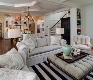 Petoskey, Michigan - Traditional - Living Room - detroit - by Edward Postiff Interiors