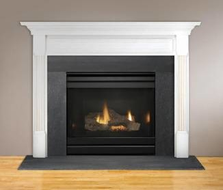 Heatilator Dv3732sbi Gas Fireplace Traditional Indoor Fireplaces Minneapolis By Fireside
