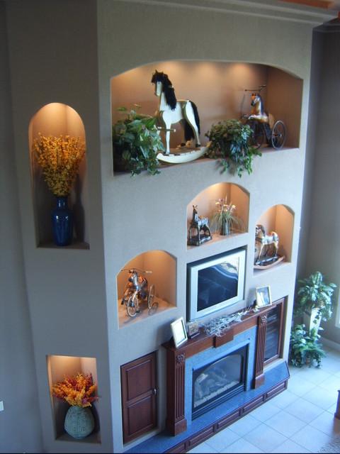 Hopfauf Custom Builders traditional-living-room