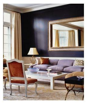 Living room - traditional living room idea in New York