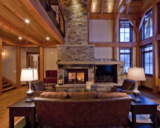 Shop With Windows On Side Fireplaces On Houzz