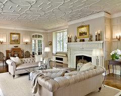 Harbor Hill traditional-living-room