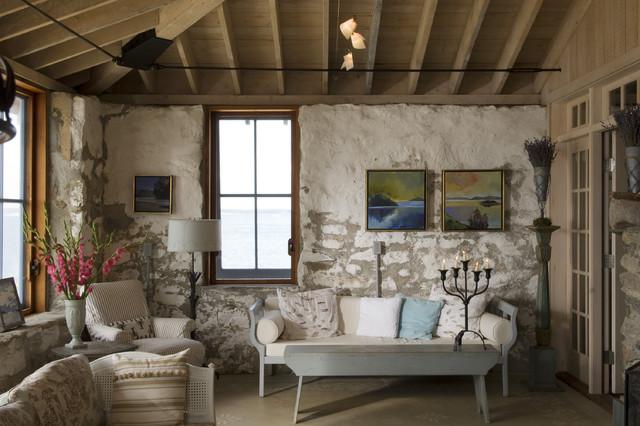 Traditional Living Room farmhouse-living-room