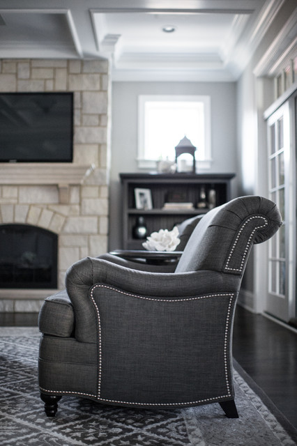 beautiful gray traditional living room other metro by kristin