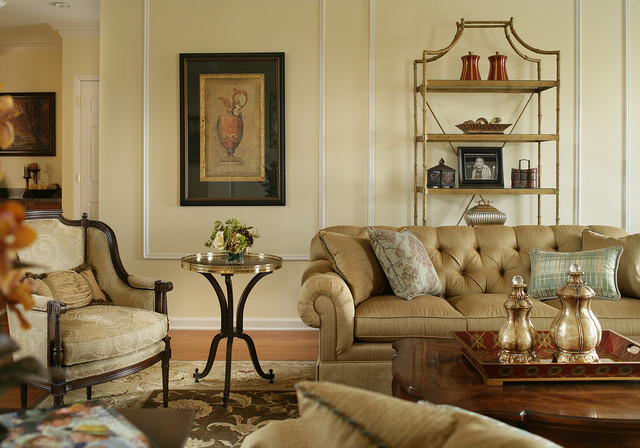 Italian Living Room. Elegant living room photo in Other Italian inspired Living Room  Houzz