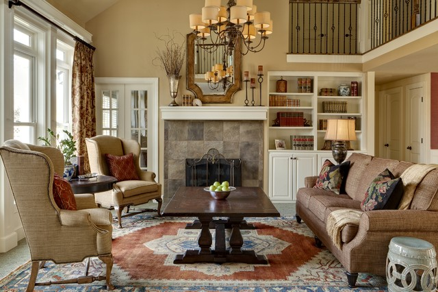 McCroskey Interiors traditional-living-room