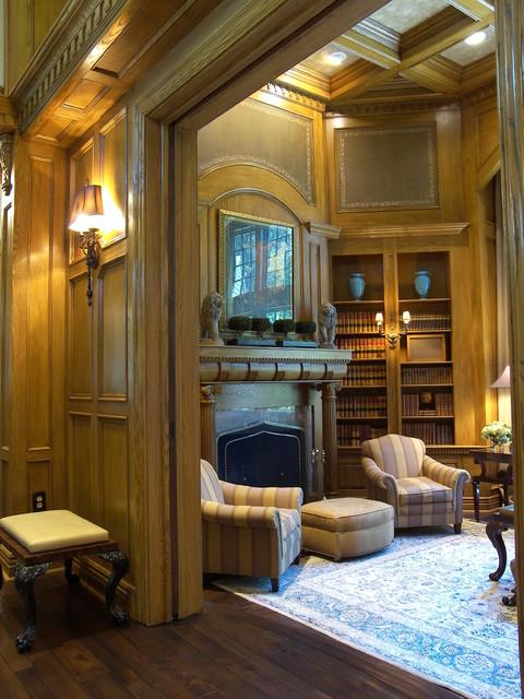 Oak Paneled Room: Oak Paneled Living Room
