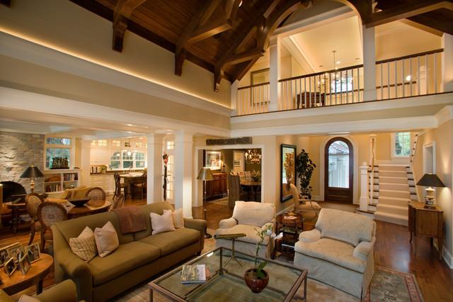 Robinson's Bay Residence traditional-living-room