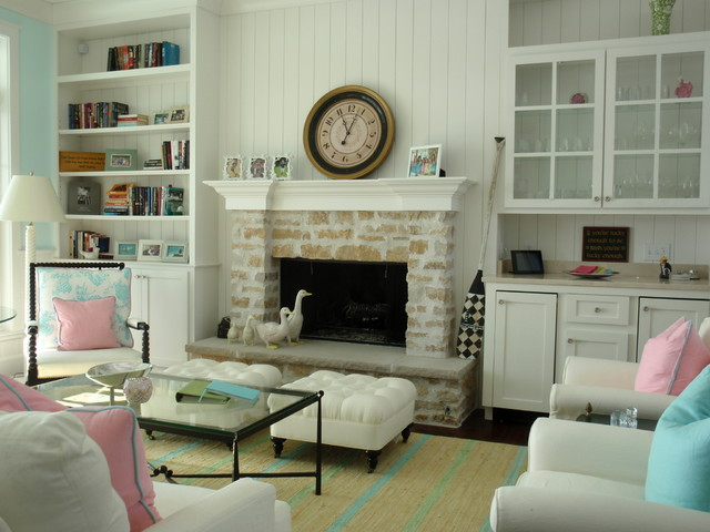 Mullaney Cottage traditional-living-room