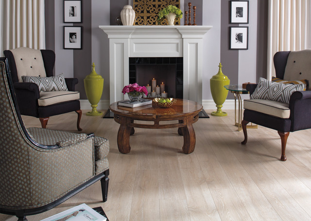 Reclaimé White Wash Oak Uf1667 Traditional Living Room Dallas