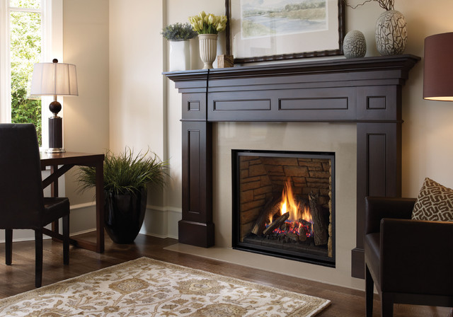 Regency Liberty L965e Gas Fireplace Traditional Living Room