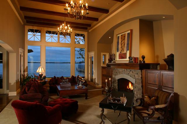 04. Lake Minnetonka Home traditional-living-room