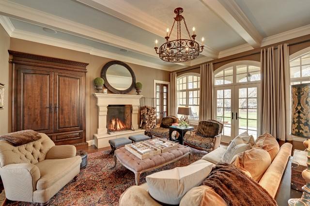 Exquisite Interiors In Minneapolis Traditional Living Room