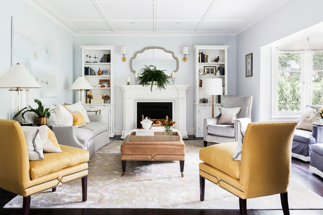Wahroonga traditional-living-room