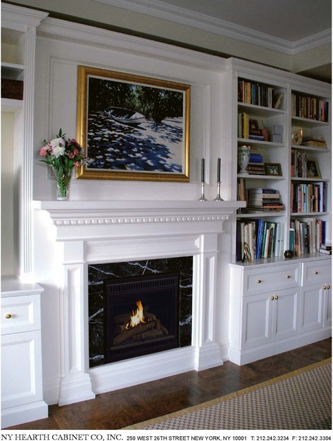 Traditional Residential Fireplace Installations Traditional New York By Hearth Cabinet