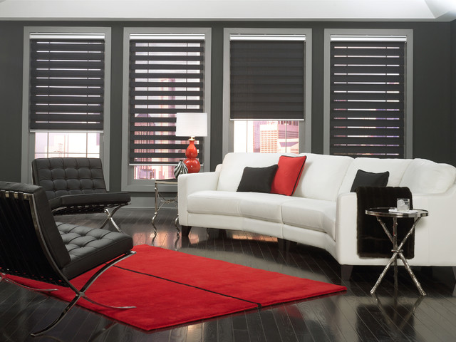 traditional shades modern home office boston by budget blinds