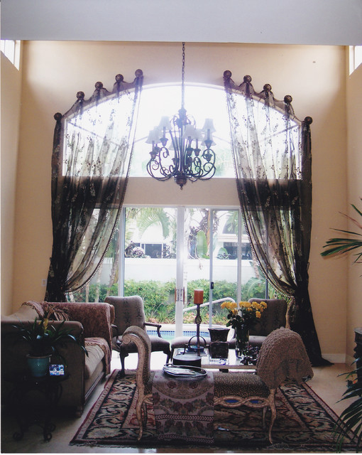 Traditional Window Treatments Traditional Living Room Other By Designs By Darlene Chanin