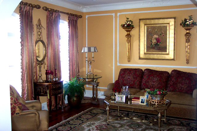 Traditional window treatments for Traditional window treatments living room