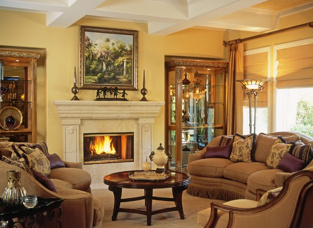 Traditionalelegant Entertainer S Living Room Traditional