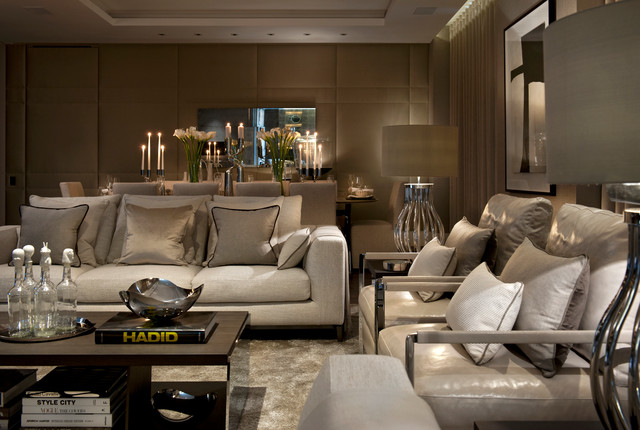 TRAFALGAR SQUARE contemporary-living-room