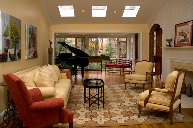 Tranquil living room danziger design fairfax va for Tranquil living room ideas
