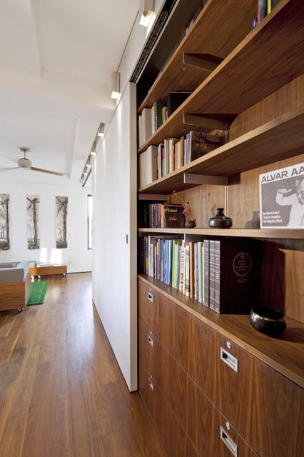 Transformer Loft modern-living-room