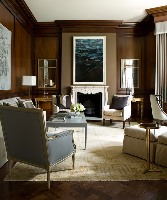 Traditional Interior Design By Ownby: Transitional Buckhead Mansion