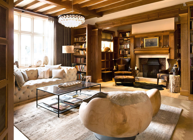Architecta Interiors eclectic family room