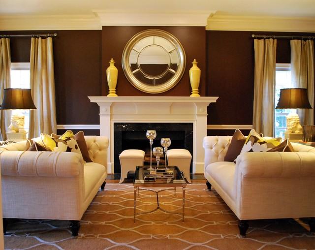 Transitional Formal Living Room Traditional Living Room Atlanta By Lilli Design