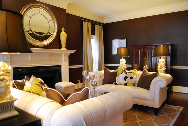 outstanding traditional formal living rooms   Transitional Formal Living Room - Traditional - Living ...