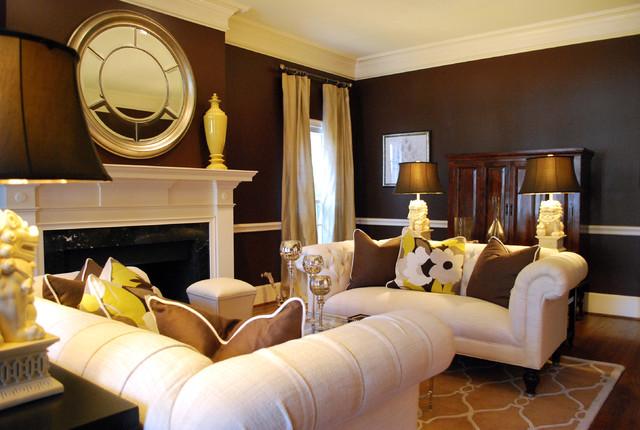 breathtaking traditional formal living room ideas   Transitional Formal Living Room - Traditional - Living ...