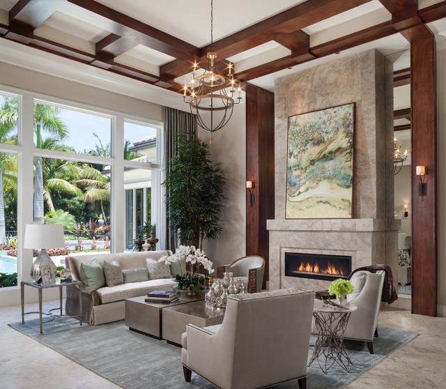 Transitional Living Room transitional-living-room