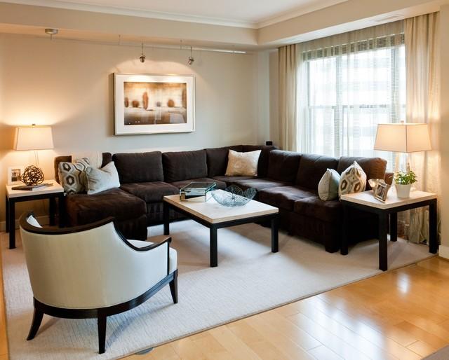transitional living room transitional living room