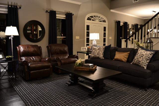 Ralph Lauren Style Living Room Transitional Living