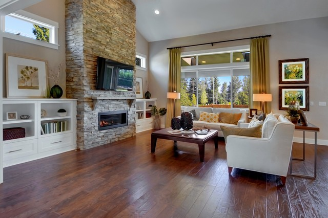 Beclan Transitional Living Room Seattle By
