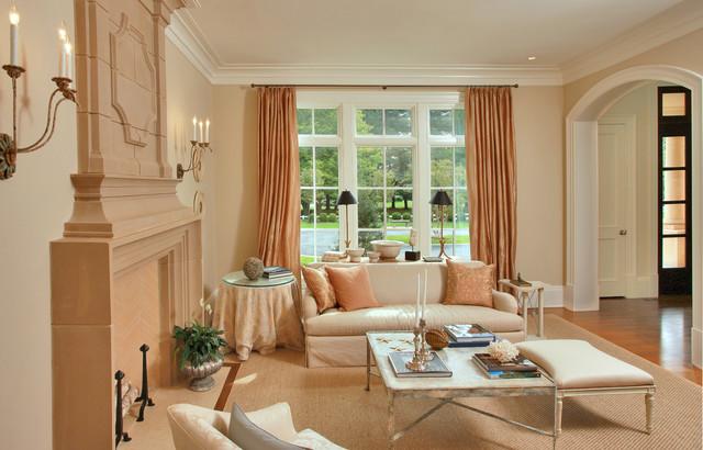 Transitional Luxury Living Room Transitional Living Room Dc Metro By Edgemoor Custom
