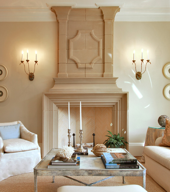 Inspirations For Transitional Living Room: Transitional Luxury Living Room