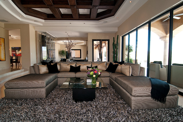 Transitional Masterpiece traditional-living-room
