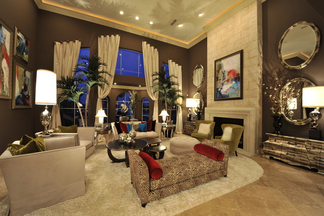 Transitional remodel transitional living room houston by the design firm - Transitional design living room decor ...