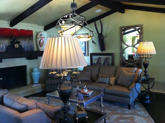 Transitional space - Barrett Caywood Residence transitional-living-room