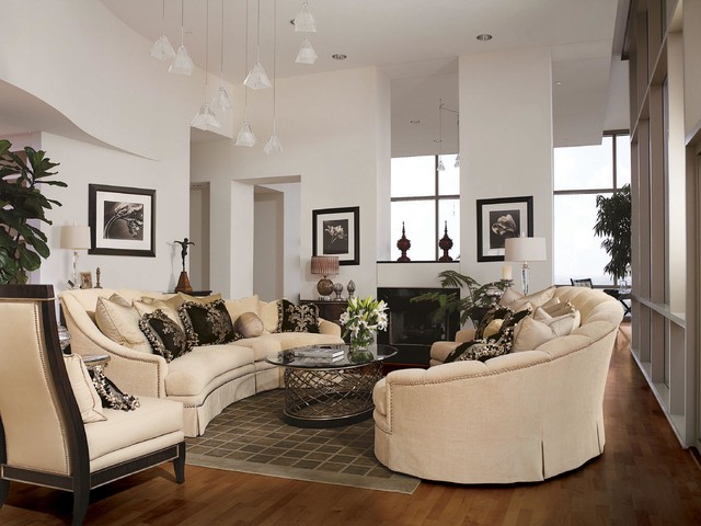 transitional style living room transitional living