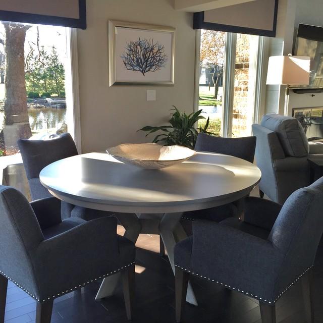 Transitional Whole Home Remodel In Overland Park Ks Transitional Living Room Kansas City