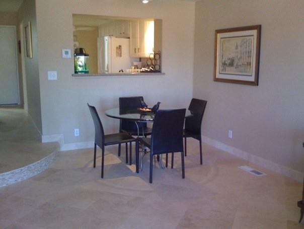 Travertine Floor Living Room Other Metro By Designer