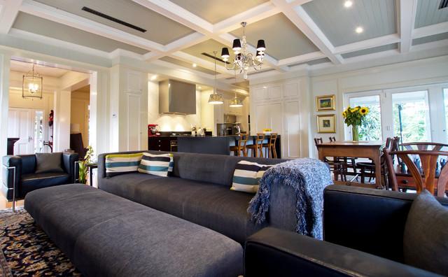 Trebilcock Architects traditional-living-room