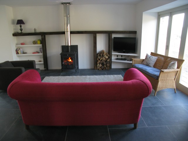 Tredinnick Barn Conversions Farmhouse Living Room Other Metro