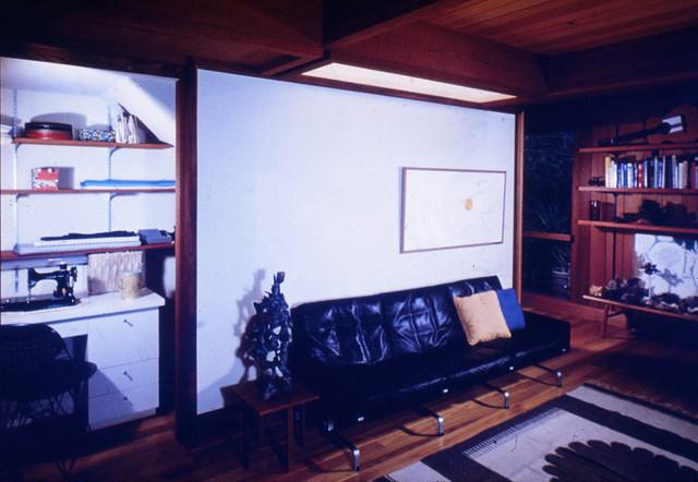 Tree House modern-living-room