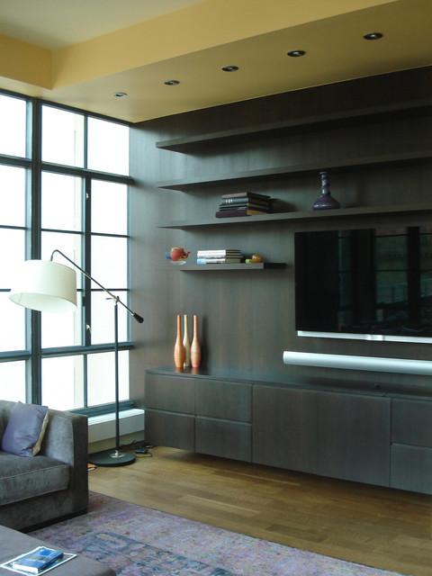 Tribeca Apartment contemporary-living-room